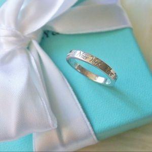 """Tiffany & Company """"Fifth Avenue"""" Ring Size 5.5"""